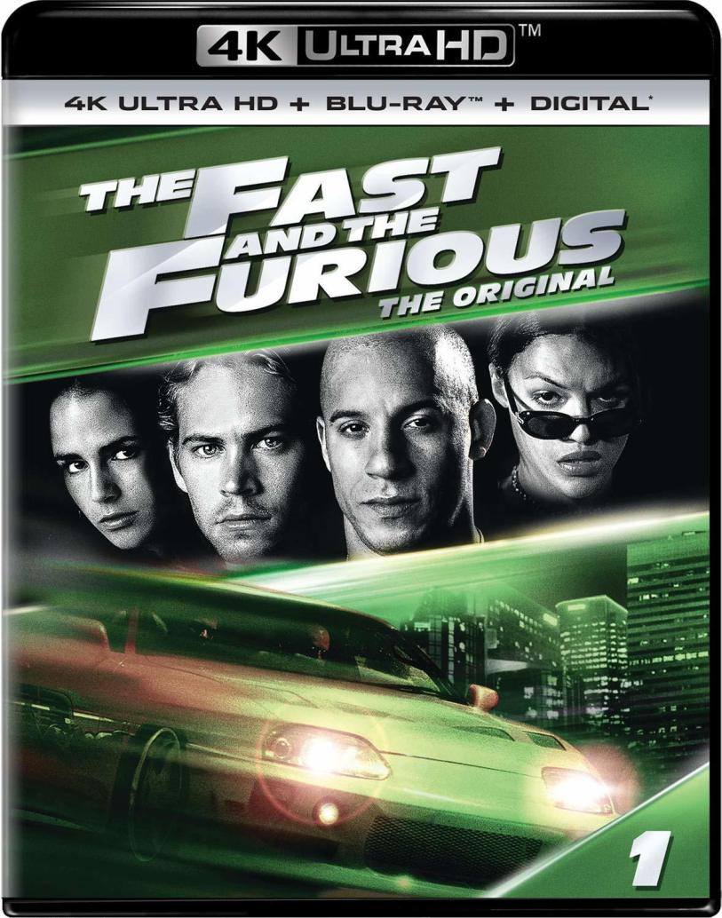 资源「4K HDR」速度与激情 The Fast and the Furious (2001)「4K UHD 蓝光破解版」