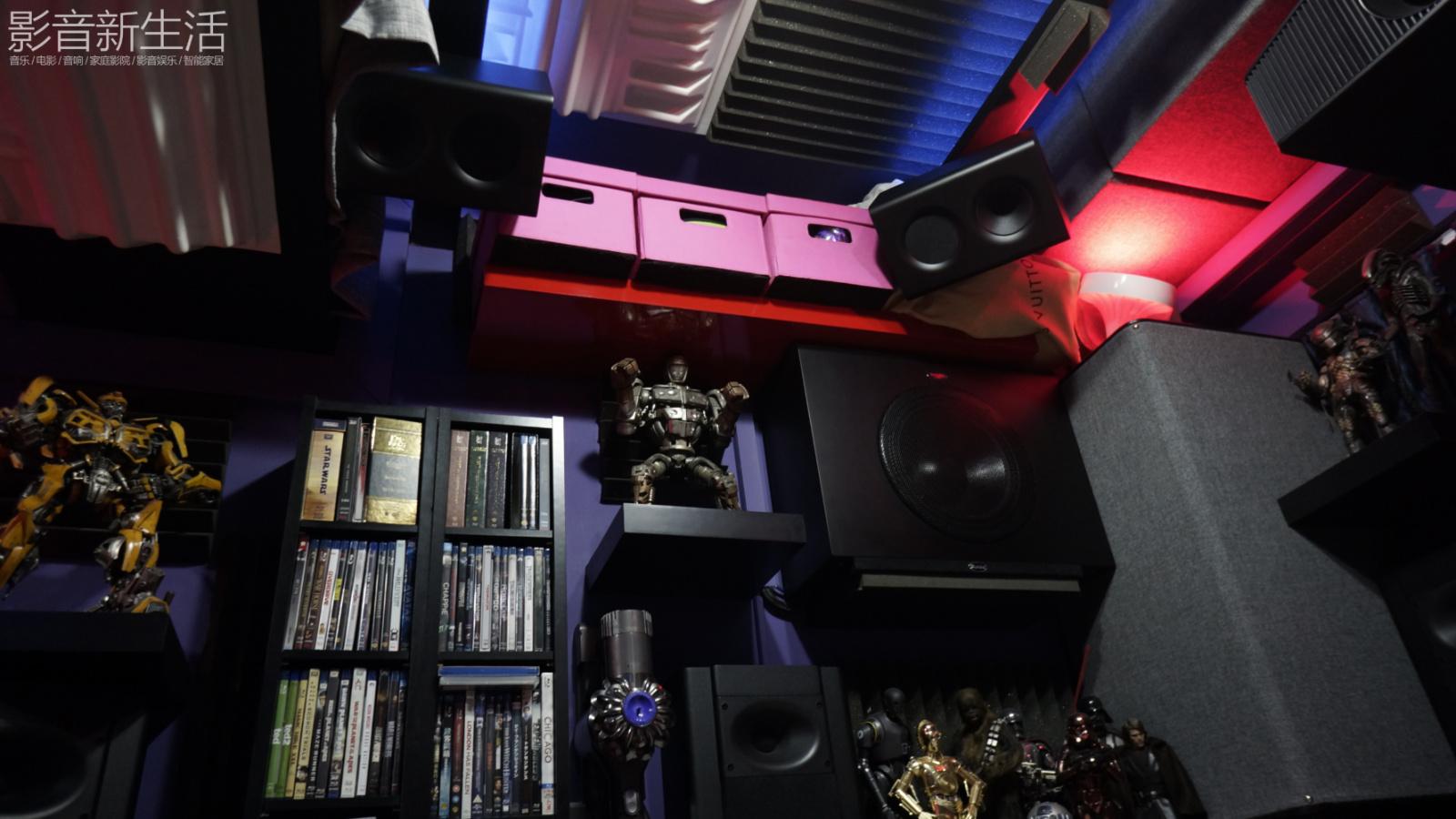 家访 | 超级迷你私人影院,叹为观止的3D环绕声体验!10平方的11.6.10声道家庭影院系统!