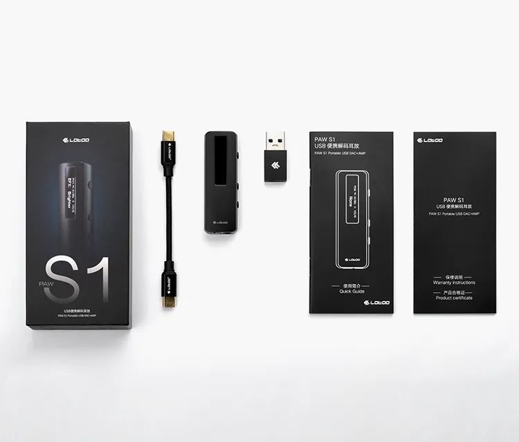 新品丨致敬Lotoo经典专业设备,PAW S1便携解码耳放正式登场